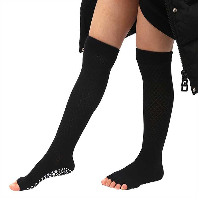 Kadın çorap uyluk örme bacak ısıtıcıları moda bot kapağı tayt Slouch çizme sıcak diz calcetines mujer seksi çorap