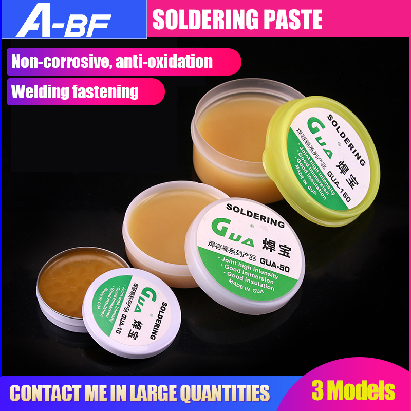 A-BF Soldering Paste Large Soldering Treasure  Flux Soldering Oil SMT Parts Environmental Welding Soldering Gel Tool