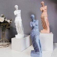 29cm European Style Home Decoration Resin Statue Modern Sculpture Art Greece Figurine Crafts Sketch Model Creativity for Decor