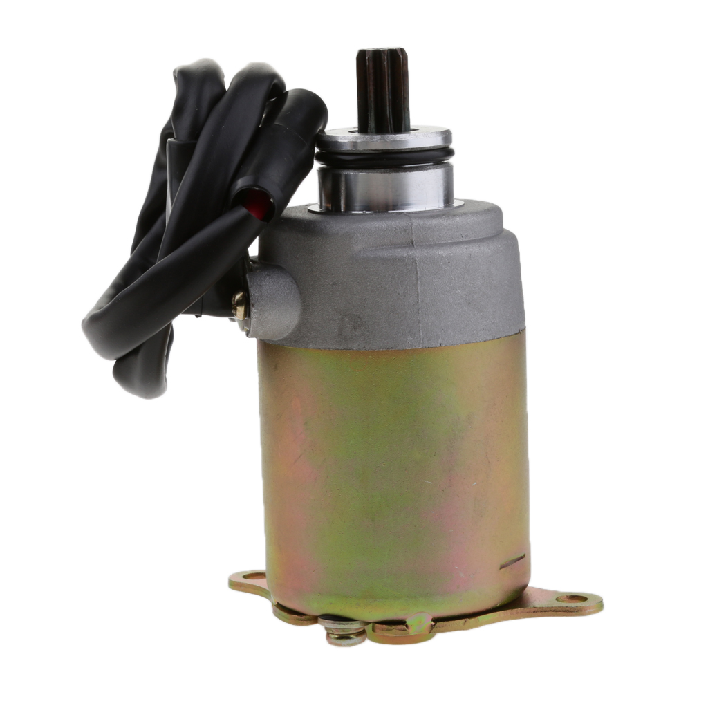 ATV Starter Quad Starter Motor For GY6 125cc-150cc Go Cart ATV Quad Scooter Motorcycle Moped Parts ATV Accessories
