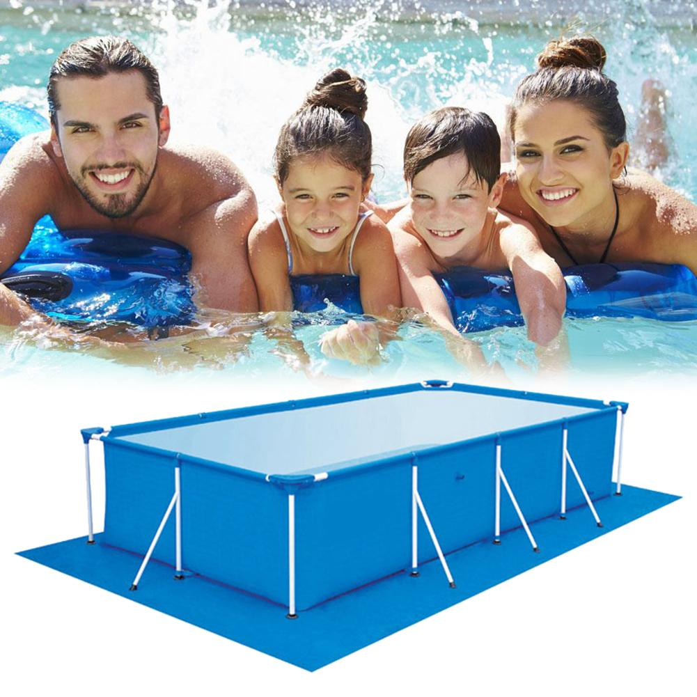 1 PCS Large Size Swimming Pool Square Ground Cloth Lip Cover Dustproof Floor Cloth Mat Cover For Outdoor Villa Garden Pool