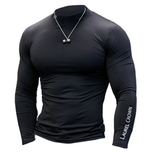 Men Gyms Fitness T-shirt Compression Skinny Bodybuilding