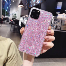 Qianliyao Case voor iPhone 7 8 6 6s Plus 11 Pro Max Bling Glitter Pailletten Soft Cover Fundas voor iPhone X XR XS Max Telefoon gevallen(China)
