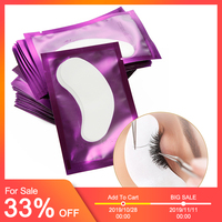 300 Pairs Eyelash Under Eye Pads Patch Set Eyelash Extensions Pad Patches Lint Free Patches for Lashes Extension Makeup Tools
