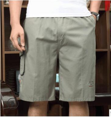 2020 new men's pants Korean version of leisure outdoor middle-aged and old cotton shorts men's casual