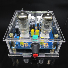 Audiophile 6J1 Tube preamplifier Headphone power amplifier Pre amp Headphone Amp 6J1 Valve Preamp Bile Buffer Amplifie DiY kit