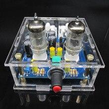 Audiophile 6J1 צינור מגבר אוזניות כוח מגבר pre amp אוזניות Amp 6J1 שסתום Preamp חיץ מרה Amplifie DiY קיט