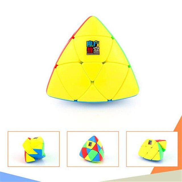 MoYu Mastermorphix Cube 3x3 Puzzle Magic Cube 3x3 Rice Dumpling Cube Triangle Magic Cube Educational Toys For Boys Cubes 5