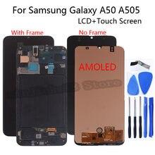 ЖК дисплей amoled для samsung galaxy a50 a505 sm a505fn/ds a505f/ds