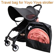 Wózek spacerowy plecak organizuj torbę podróżną wózek spacerowy torba transportowa dla Babyzen Yoyo Yoya Yuyu i podobny wózek tanie tanio godmy Linen Torba na wózek yo-bag 01 0-3 M 4-6 M 7-9 M 10-12 M 13-18 M 19-24 M 2-3Y 4-6Y 7-9Y 10-12Y 13-14Y 14 T