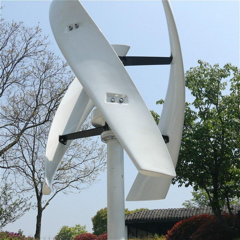 R & X CE 500w vent Vertical générateur Turbine Kit 24v sans noyau énergie libre alternateur à l'intérieur avec contrôleur gratuit silencieux
