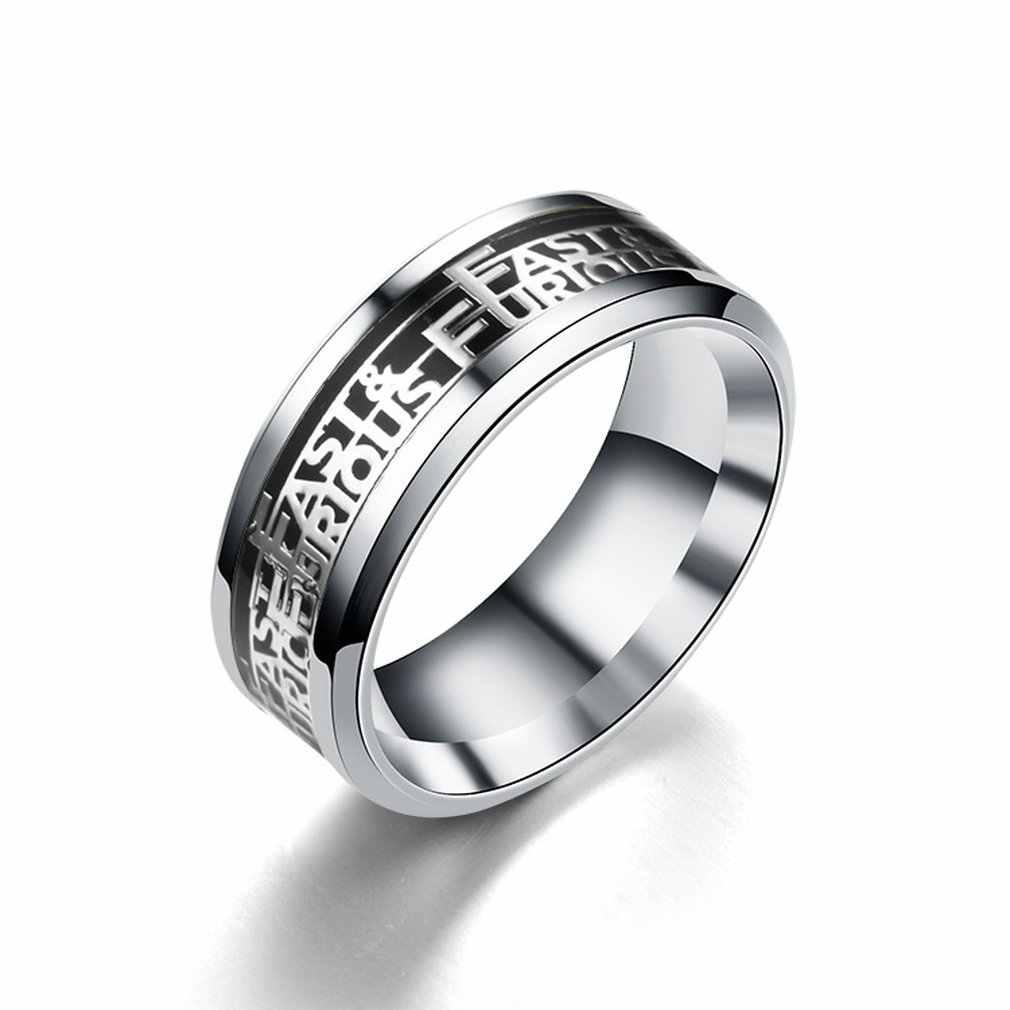 Menawan Titanium Cincin Baja Unisex Cincin Wanita Pria Jari Warna Perak Perhiasan Klasik Natal Yang Indah Valentine Hadiah
