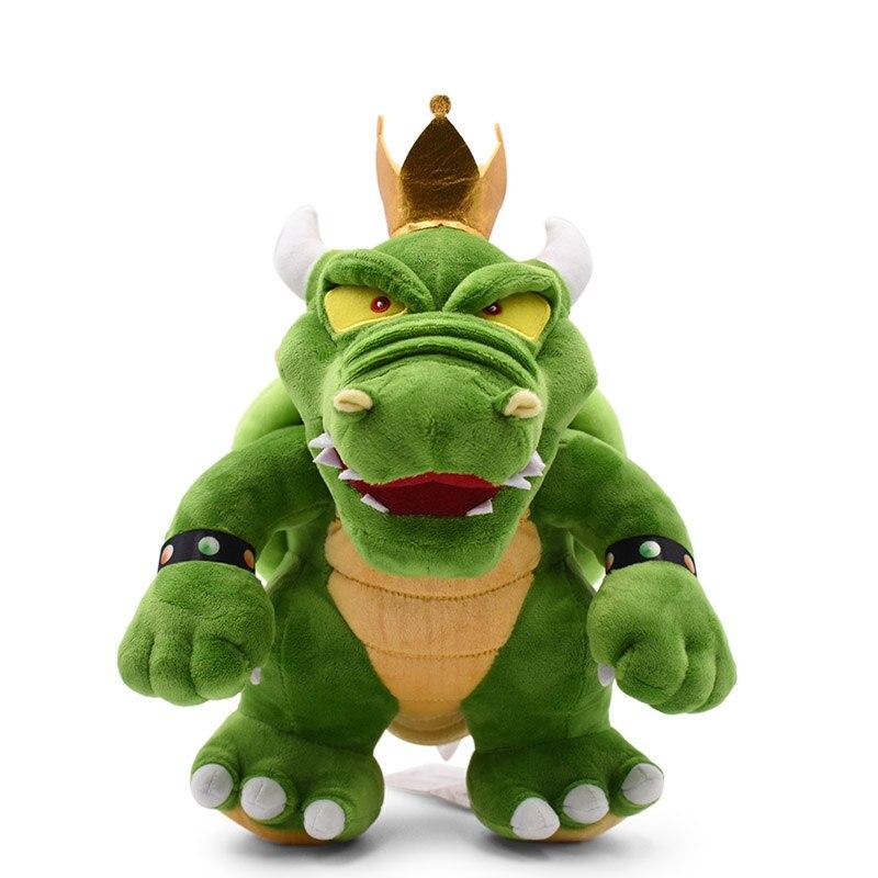 30 cm Big Size Anime Kuba Bowser King Koopa Stuffed Plush Toy Anime Cartoon Peluche Dolls Christmas Gift Baby Toys For Children(China)