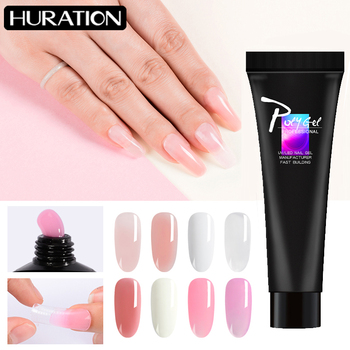 Nail Gel Acrylic Poly Gel Quick Extension Gel UV Builder Camouflag Color Jelly Clear Extension Gel Varnish Polygel for Nails Art soak off poly gel uv acryl gel quick building 15ml finger extension polygel builder gel camouflage uv led hard builder nail gel