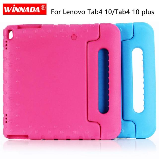 Чехол для Lenovo Tab 4 10 ТБ X304F, детский противоударный чехол с полным покрытием ручки из ЭВА для Lenovo Tab 4 10 PLUS, чехлы для Lenovo X704N 10,1 дюйма