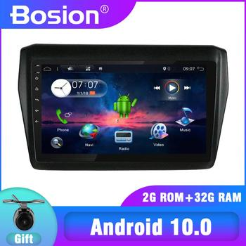 Bosion 2G+32G 2 din Android 10 Car Radio Multimedia Player For Suzuki Swift 2007 2008 2009 Navigation Stereo Autoradio Video SWC image