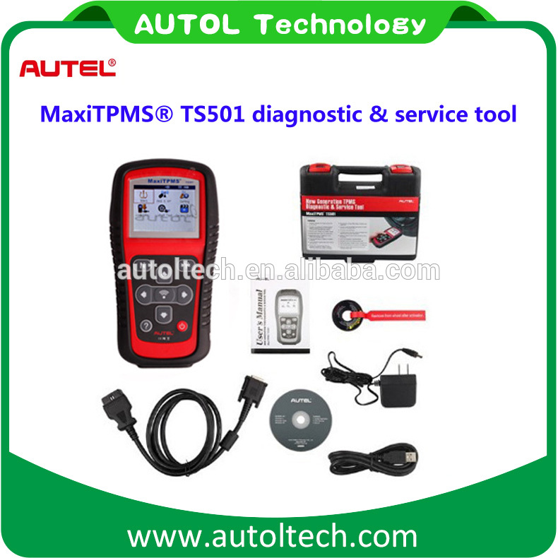 2017 Newly <font><b>Autel</b></font> MaxiTPMS TS501 TPMS Tool with OBDII Adapters Tire Pressure Monitoring System TPMS <font><b>autel</b></font> <font><b>ts601</b></font> image