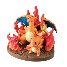 TAKARA TOMY Pokemon Pocket Monsters Venusaur Blastoise Charizard Figure Scenes Toys Action Children Gifts