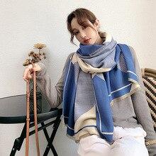 Women Scarf Pashmina Blanket Wraps Shawls Hijab Echarpe Warm Female Winter Brand New