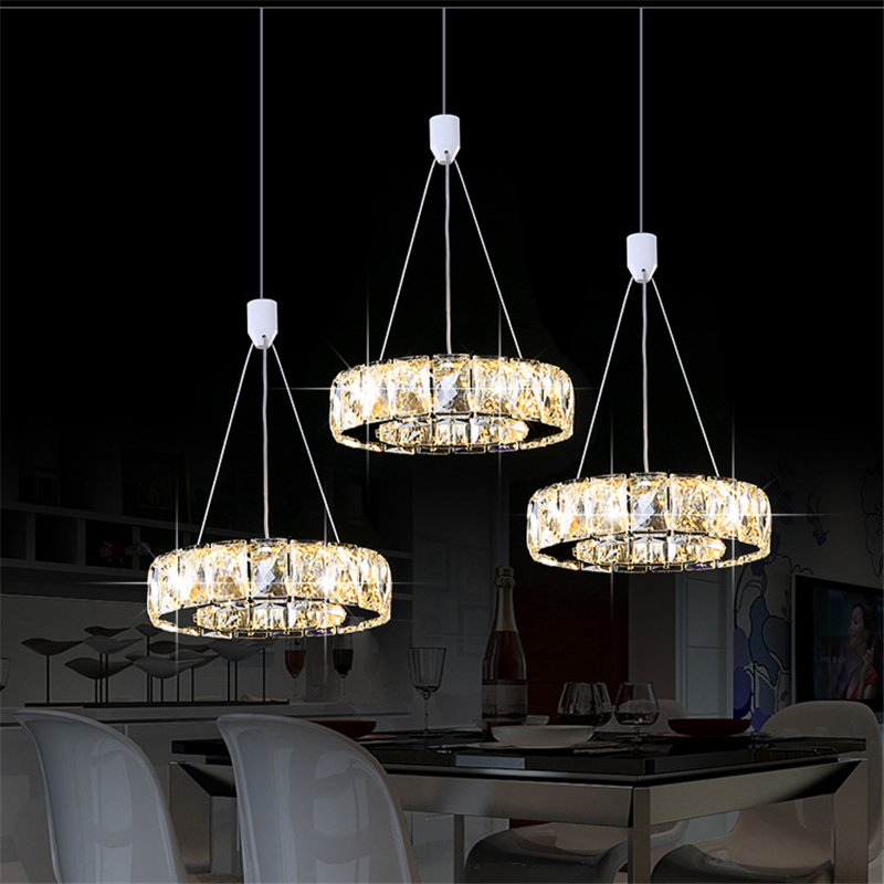 Cristal bougeoir luxe argent jardin cristal LED lustre lumière lustre lampe luminaire moderne lustre éclairage - 3