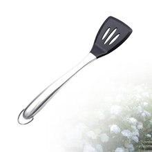 Utensílio de cozinha resistente ao calor com punho de aço inoxidável (rou