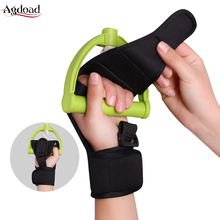 Hand Brace Anti-Spasticity Rehabilitation Gloves Hand Fixed Splint Help Hemiplegia Patient Rehabilitation Exercise for Ride Bike anti spasticity finger glove rehabilitation training auxiliary finger hand recovery grip splint for stroke hemiplegia patient
