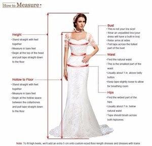 Image 5 - Кружевное свадебное платье русалка, белое платье в пол со шлейфом, сексуальное свадебное платье, 2019