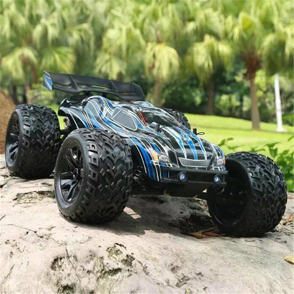 JLB Racing CHEETAH 2 Batteries 120A Upgraded 1:<font><b>10</b></font> 2.4G 4WD 80km/h Brushless RC Car Truggy 21101 RTR Model image