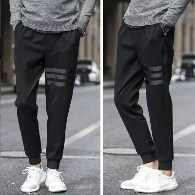 2018 Spring Summer Men Harem Pants Athletic Pants MEN'S Trousers Students Skinny Beam Leg Fashion Man Casual Sweatpants Business