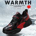 Обувь для мальчиков  детская спортивная обувь  модная теплая обувь для снега  водонепроницаемые кроссовки  весна-осень