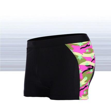 Новый стиль Мужские плавки-боксеры Камуфляж Военный стиль спортивные суставы Горячие пружины-