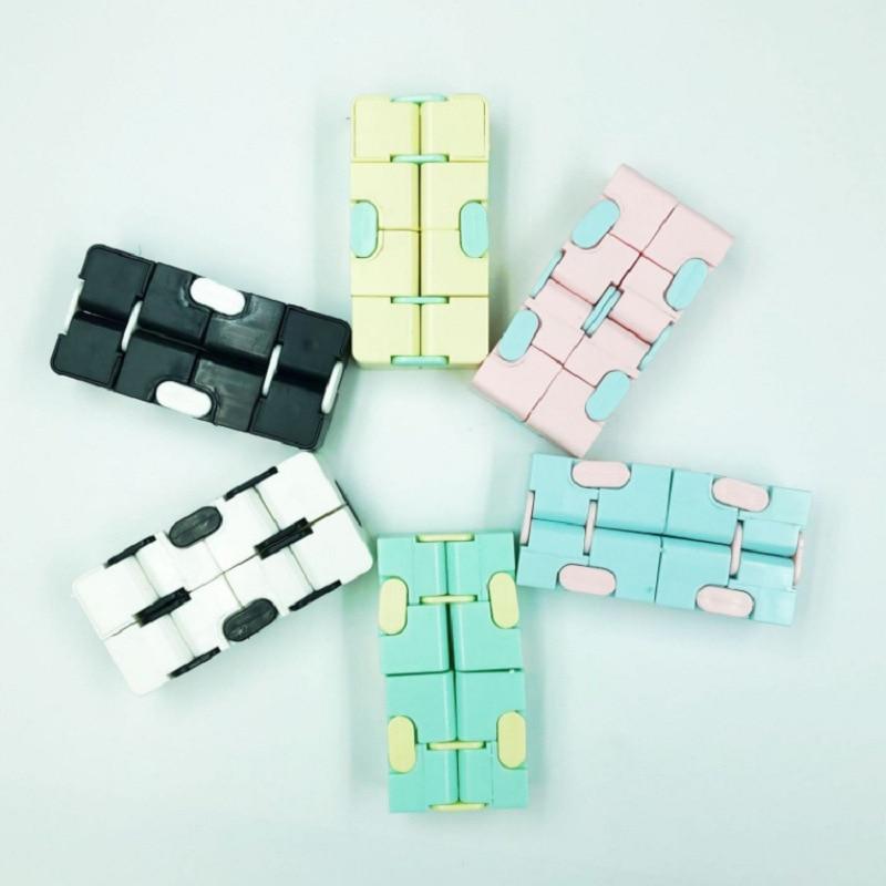 Fidget Puzzle Toys Maze Hand-Game Stress Brain Fun Four-Corner Teaser Creative img4