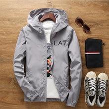 2021 New Mens Fashion Printing Jackets Coats Men's Zipper Windbreaker Bomber Jacket Men Outdoors Clothes Casual Streetwear