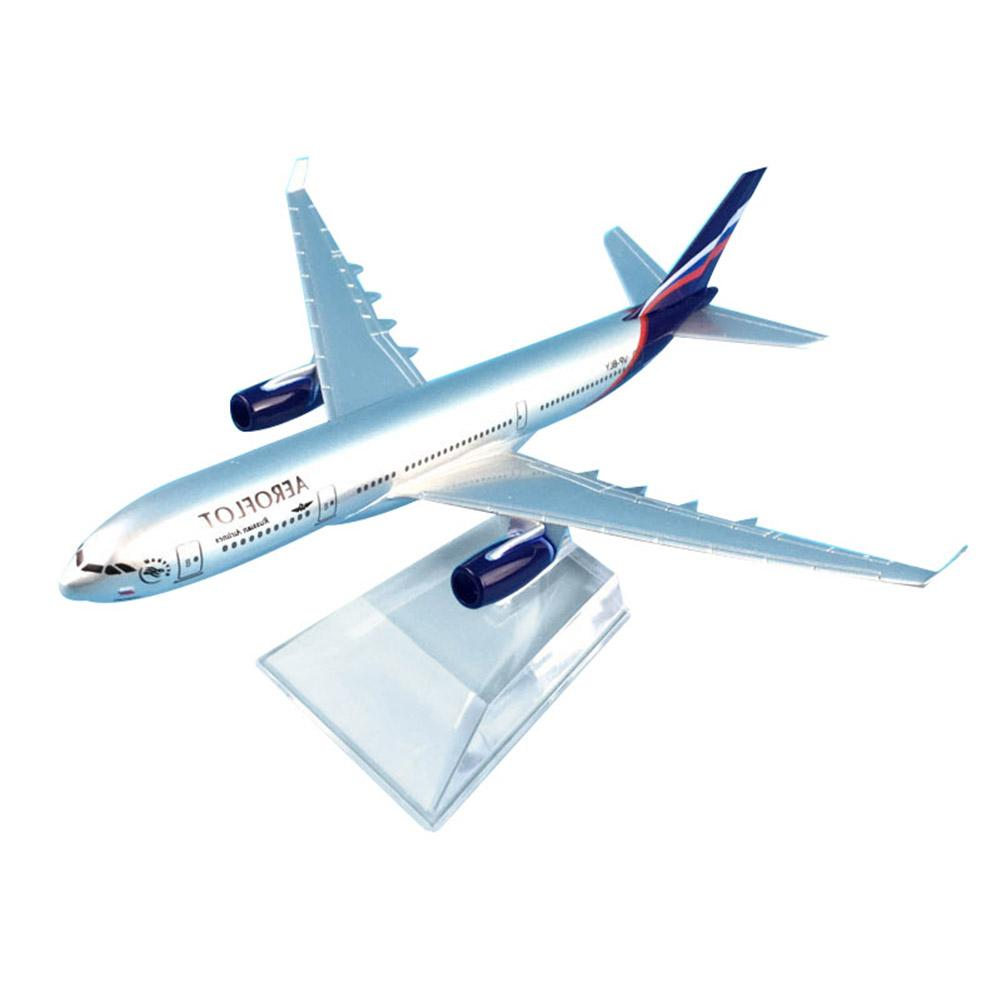 1/400 16cm Russia Air Passenger A330-200 Plane Aircraft Airplane Model Kids Gift image