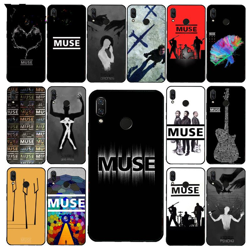 Yinuoda Muse Band Lyrics Music Songs Phone Case for Xiaomi Redmi8 4X 6A S2 Go Redmi 5 5Plus Note8 Note5 7 Note8Pro image