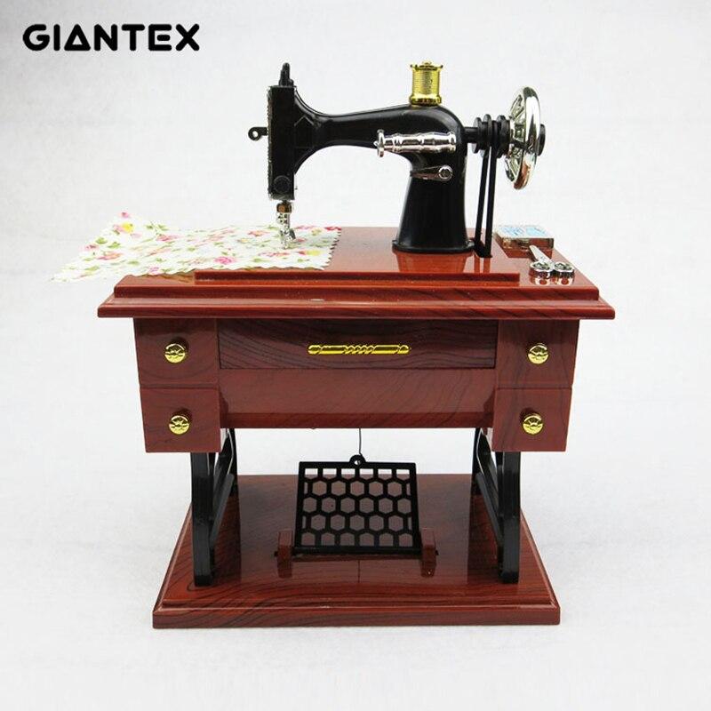 Sewing Machine Music Box Home Decoration Valentines Day Gift for Girlfriend Caja Musical Boite A Musique Muziekdoosje Pozytywka|Music Boxes| |  - title=