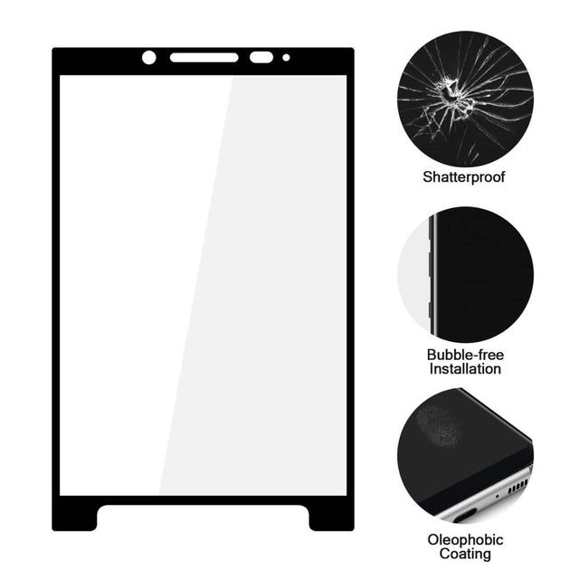 3D Full Coverage Tempered Glass For BlackBerry Keyone Dtek70 Dk70 Priv Screen Protector For Keytwo Key2 le lite Protective Film