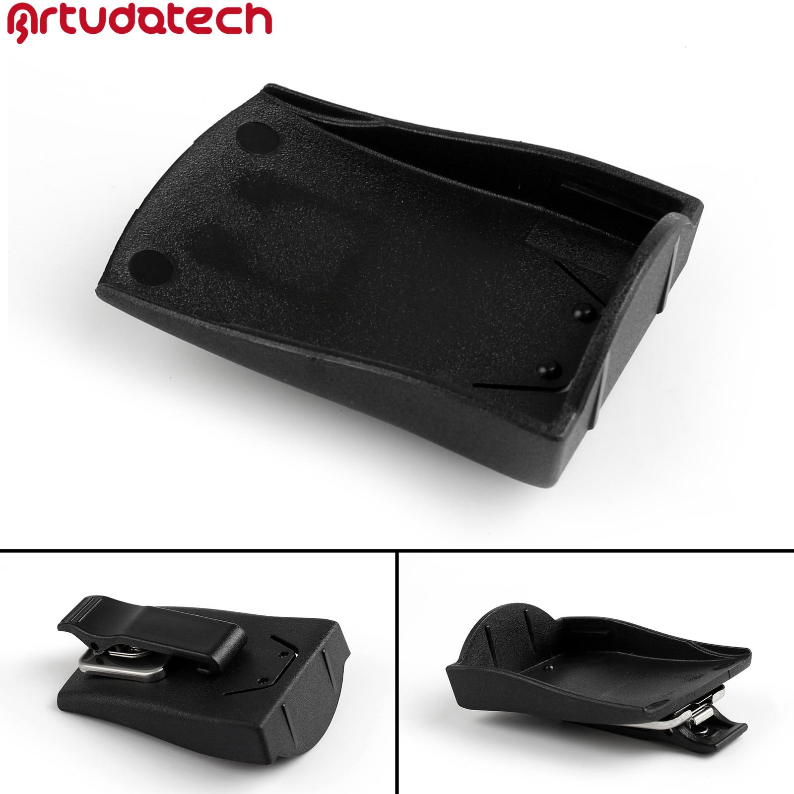 Artudatech Plastic Belt Battery Clip For Motorola GP328 GP338 Plus GP344 GP388 GP644 GP688  PTX700Plus PTX760Plus Radio