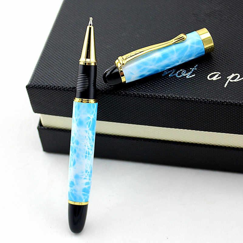 Фото Высококачественный мрамор металлическая гелевая ручка для офиса школьный