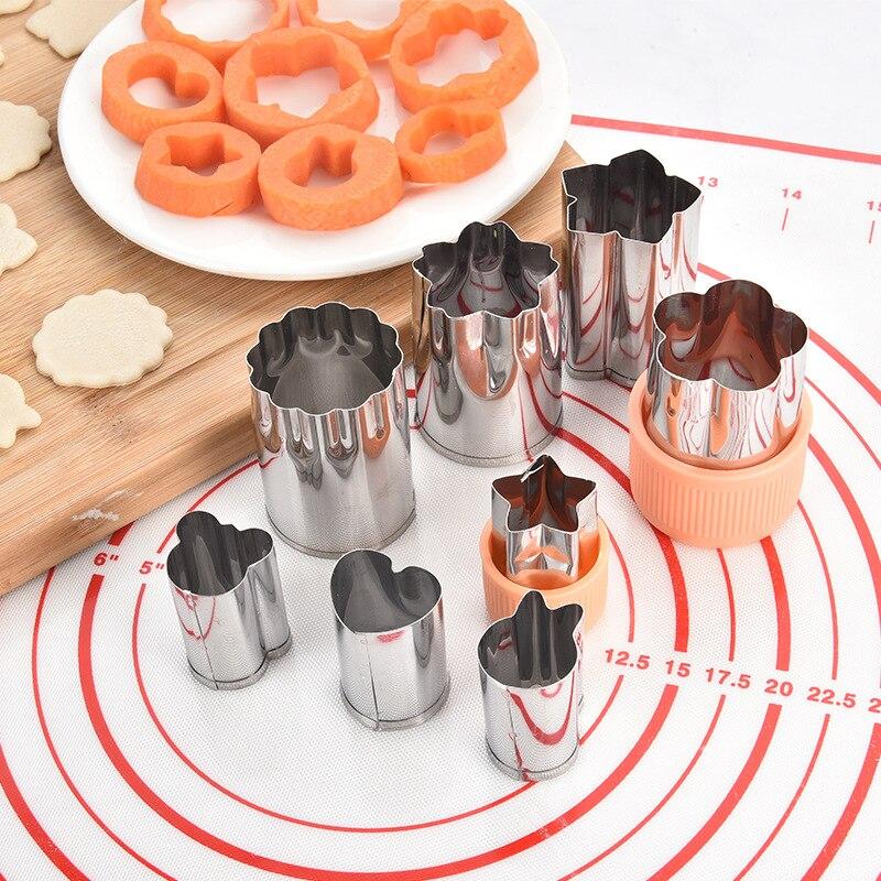 Для Fondant (сахарная) нож для торта и печенья прессформы фрукты растительная форма Кухня инструмент Еда плунжерная форма Многоцелевой DIY Пособ...