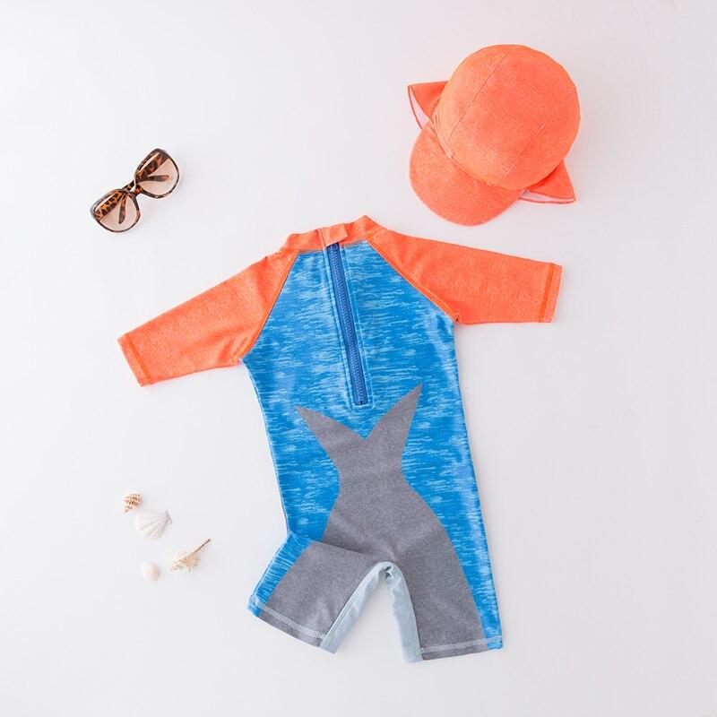 Купальный костюм для маленьких мальчиков купальный цельный малышей