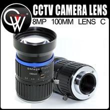 8 Mega Pixel 100mm CCTV 1:3.5 Lens C-Mounts 1