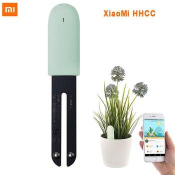 Original Xiaomi Mi fleur moniteur plantes sol eau lumière testeur intelligent pour Xiaomi Mijia flore détecter capteur jardin CN Version