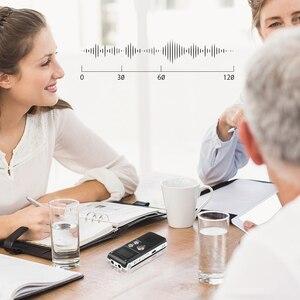 Image 5 - Kebidumei mini gravador de voz, 8gb, mini usb, flash, gravador de voz digital, 650hr, dictaphone, mp3 player