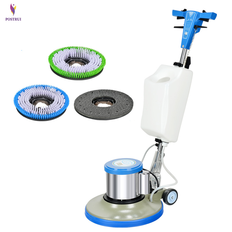 Floor Washing Machine Push-type Brushes Wiping Machine Polishing Floor,Carpet Cleaning/Waxing Machine BF522 For Household/ Hotel
