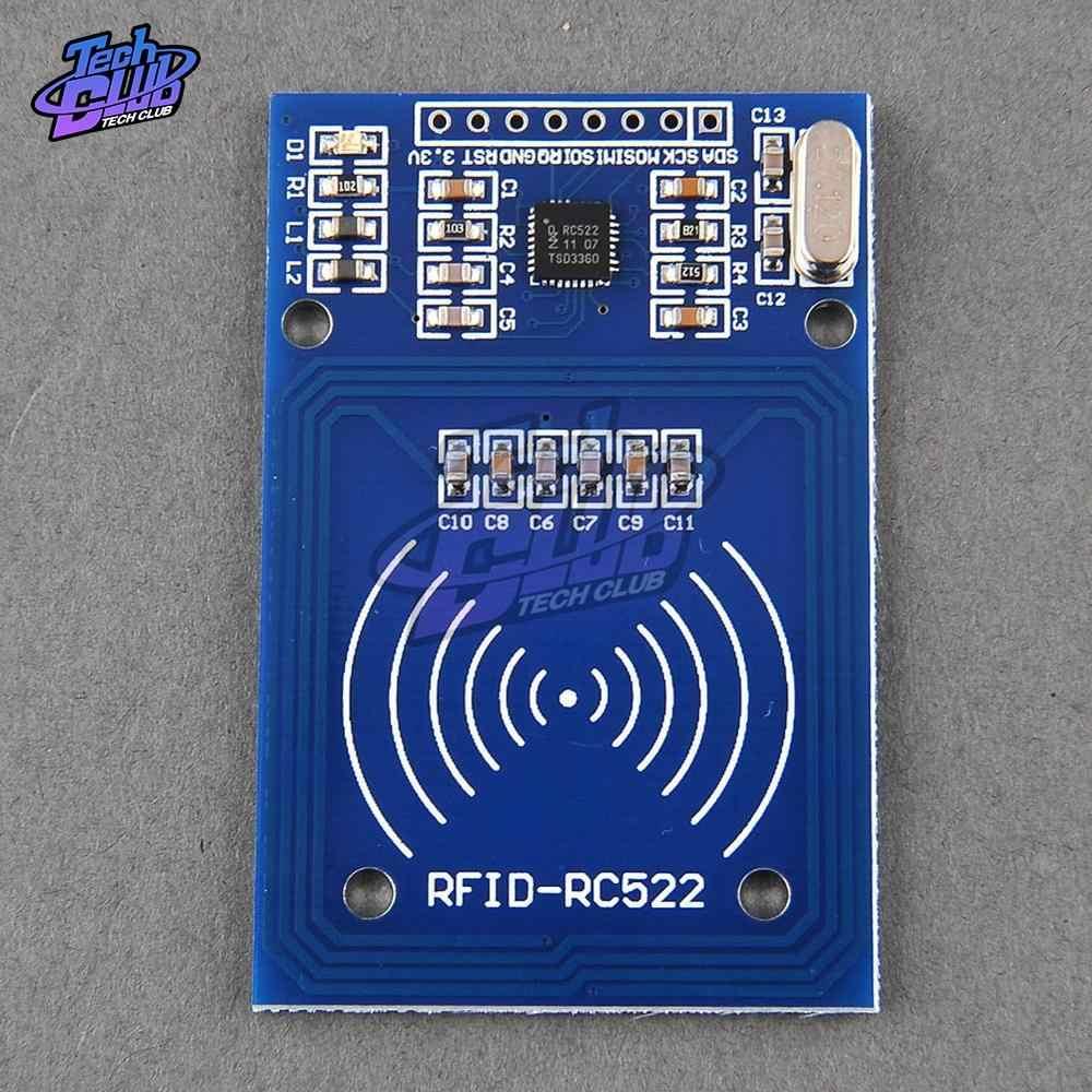تيار مستمر 3.3 فولت I2C/SPI تتفاعل وحدة لاسلكية لاردوينو MF RC522 قارئ RC-522 الكاتب الاستشعار بطاقة وحدة 2 دبابيس 13.56 ميجا هرتز