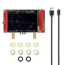 Analisador de rede de vetor 3g 50khz 3ghz S A A 2 nanovna v2 antena analisador de ondas curtas hf vhf uhf vetor analisador de rede