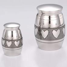Stainless-Steel Cremation Human Urns Urn-Funeral-Holder Keepsake Pet-Ashes Custom