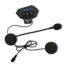 цена на Helmet Headphone Bluetooth Motorcycle Headset V4.2 Bluetooth Intercom Motor Bike Earphone Noise Reduction Microphone MIC