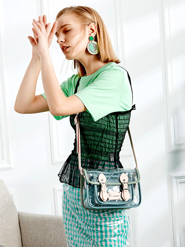 Transparent Small Crossbody Bags For Women 2020  New Messenger Bags Female Fashion Girls Clear Mini Shoulder Bag jelly bag